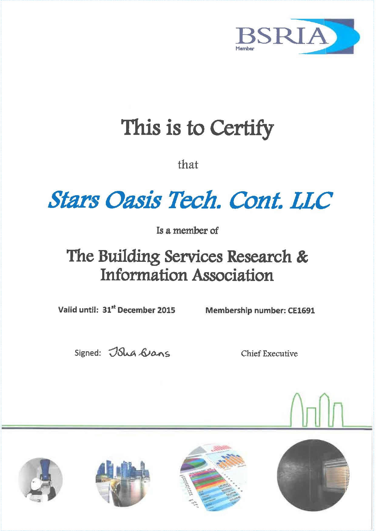 Stars Oasis Tech Cont Llc Otec Certifications